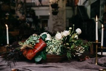 Rich Wedding Florals
